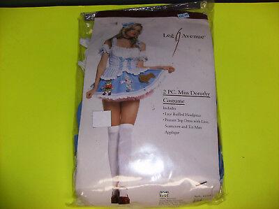 LEG AVENUE MISS DOROTHY WOMEN HALLOWEEN COSTUME SMALL (Leg Avenue Dorothy Costume)