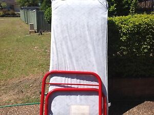 Tube single bed with mattress Maryland Newcastle Area Preview