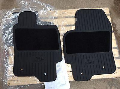 Jaguar X type All Wheel Drive Models Rubber Mat Set   C2S35349  C2S35351