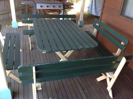 12  person BBQ table and seats Mount Colah Hornsby Area Preview