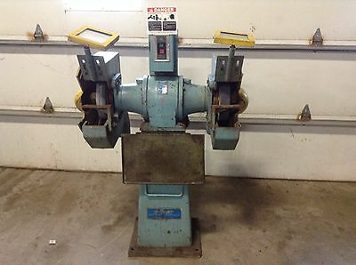 Cincinnati Electrical Tool Large Dual Wheel Grinder Gpca 460 Vac 3 Phase Tsc