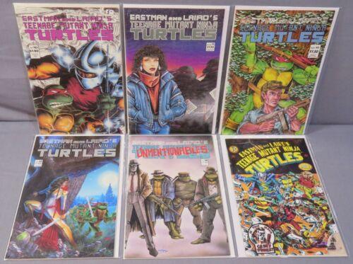 TEENAGE MUTANT NINJA TURTLES #10 11 12 13 14 15 run of 6 Mirage Comics 1987 TMNT