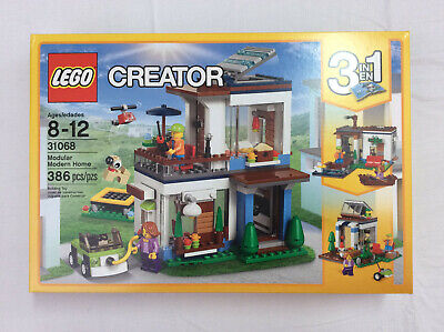 Lego Creator 3 in 1 31068 Modern Modular Home. New in Sealed Box. Retired Set!