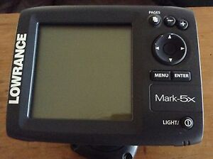 LOWRANCE MARK-5X FISH FINDER DEPTH SOUNDER Paradise Point Gold Coast North Preview