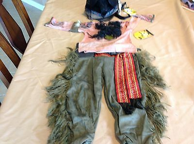 Disney the Lone Ranger to kids for Halloween or a play costume size 4 complete