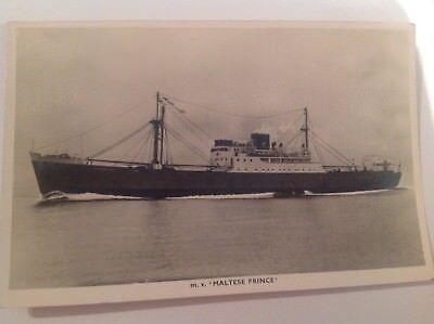 RP Postcard - M.V. Maltese Prince