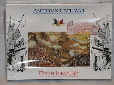 Accurate Figures 1:72 American civil war union infantry sealed 7202
