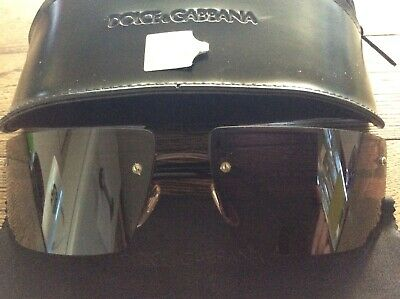 Genuine DOLCE & GABBANA Sunglasses NEW With Case & Security Tag Unisex