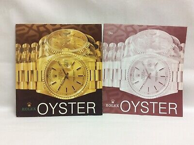 Rolex Vintage Oyster Catalog 1993 + Rolex price catalog 1994 + FREE SHIPPING
