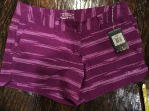 Nike Drifit Tour Performance Womens Size 12 Golf Shorts Purple