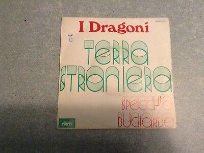Disque vinyle 45 tours B2 /i dragoni,terra straniera