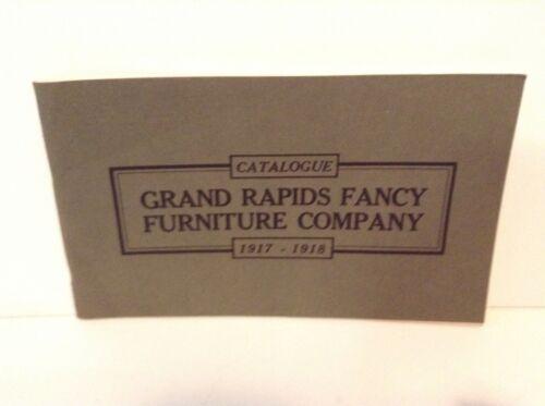1917-18 Grand Rapids Fancy Furniture Company CATALOG, MI, Great Condition