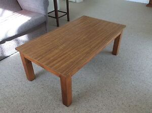 Timber coffee table Elanora Heights Pittwater Area Preview