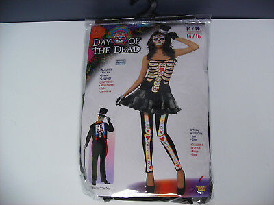 DAY OF THE DEAD WOMEN HALLOWEEN COSTUME ONE - Woman's Day Halloween Costumes