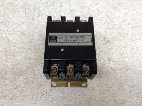 GE General Electric CR153GB072CTA Definite Contactor CR153-GB072CTA (TSC)