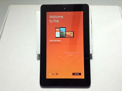 "*Amazon Kindle Fire 7""  5th  Model SV98LN Tablet  16GB"