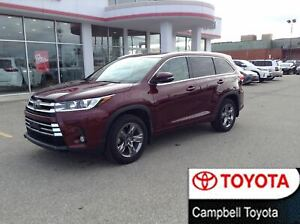 2017 Toyota Highlander LIMITED--AWD--ALL THE TOYS--LOW KM'S