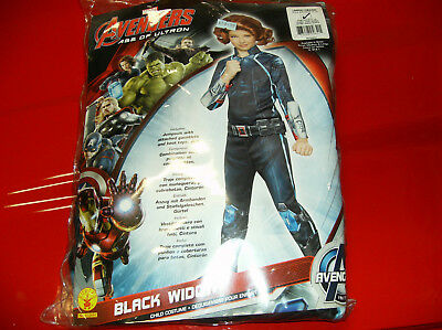 Black Widow Baby Halloween (MARVEL AVENGERS BLACK WIDOW CHILD HALLOWEEN COSTUME)