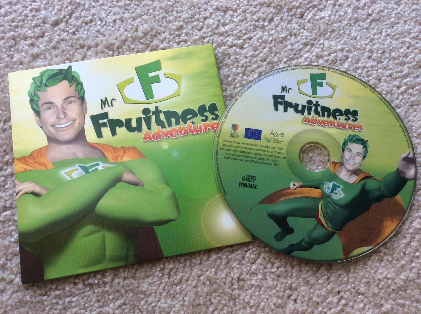Mr. Fruitness Adventures CD-ROM Spiel für PC und MAC