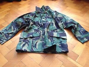 WATERPROOF BREATHABLE DPM CAMOUFLAGE JACKET BRITISH ARMY ISSUE 180/96 38