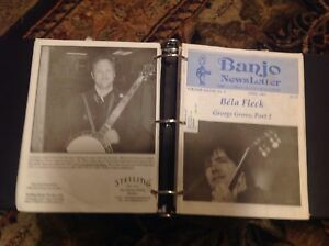 Banjo Newsletter 303 issues $150 - less than 50 cents an issue!