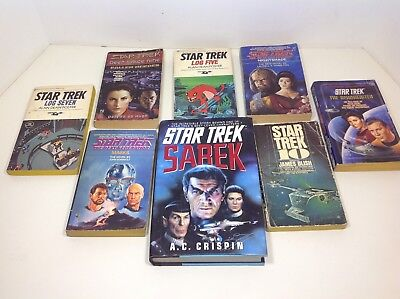 Vintage Star Trek Book Lot