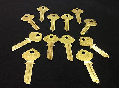 Ilco By Star In2 In3 Key Blanks Set Of 12- Locksmith