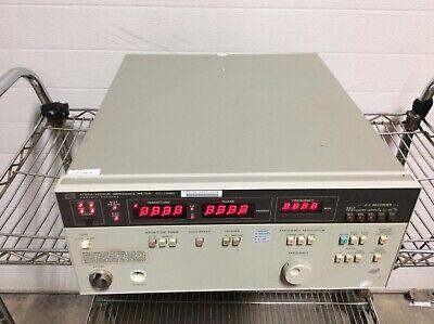 Hewlett Packard Hp Agilent 4193a Vector Impedance Meter 0.4-110mhz