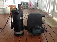 Water pump and PM rain unit for rainwater tank Coorparoo Brisbane South East Preview