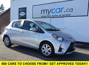 2018 Toyota Yaris LE HEATED SEATS, BACKUP CAM, PWR GROUP!!