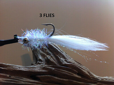 SMALLMOUTH CLOUSER MINNOW FLY 12 FLIES  size 4 Mustad 34007  redfish BONEFISH