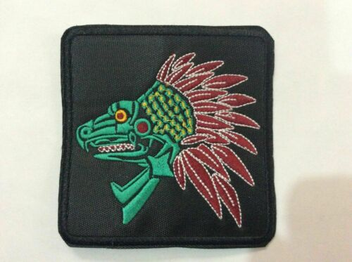 Patch Quetzalcoatl - Aztec Mitology - Mexico - Kukulkan - Feathered Serpent Maya