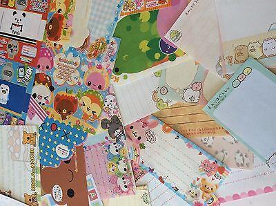 Kawaii stationery 50 memo sheets Sanx Qlia Stationary Sanrio Letter Writing