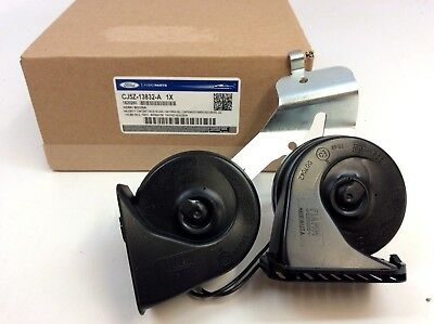 2013-2018 Ford Escape Dual High Low Note Electric Horn with Bracket new (Horn Low Note)