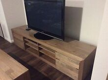 POD Entertainment TV unit, Domayne, Aged Timber Aberglasslyn Maitland Area Preview