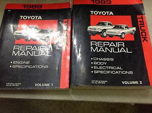 1993 toyota pickup factory service manual
