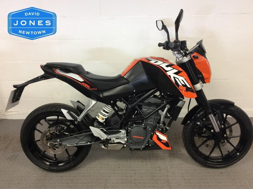 KTM 125 Duke ABS Orange 2013 / 63  Leaner Legal