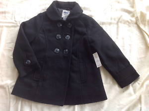 Girl's 5T Peacoat New With Tags