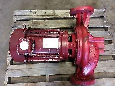 Bell And Gossett Pump 2-12 7.5 Hp Booster Pump
