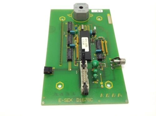 KEBA E-SEK D1678C Control Board Assembly