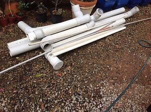 100mm sewer pipe with fittings. Tarragindi Brisbane South West Preview