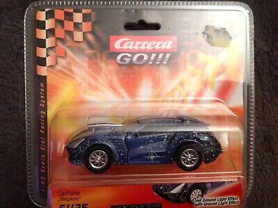 Carrera Go Turbo Power Auto CarForce Stargazer 61125, blau, Lichteffekt, NEU+OVP