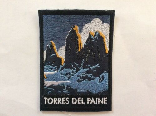 Patch Torres del Paine Chile Souvenir Patagonia South America