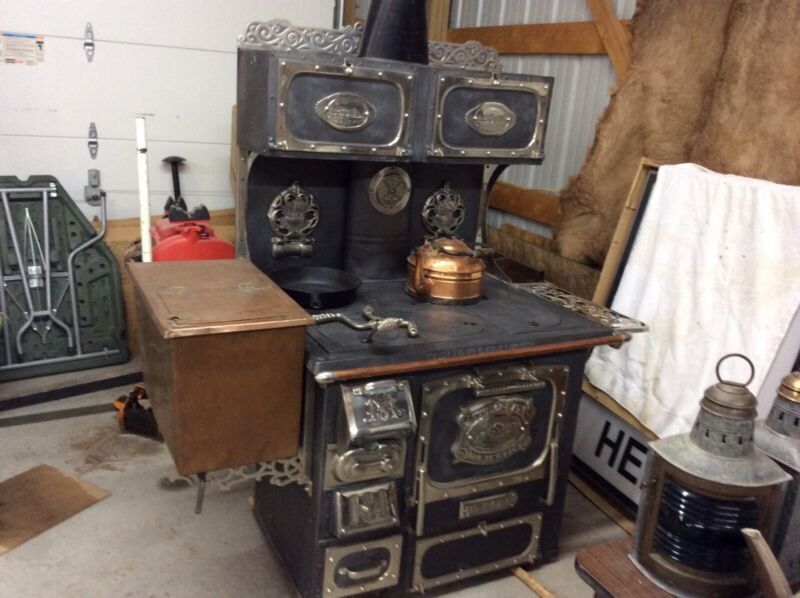 Majestic Antique Cook Stove  #645
