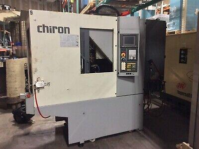 Chiron Fz08w Vertical Machine Center Vmc Pallet Changer Wfanuc Cnc Filtermist 2