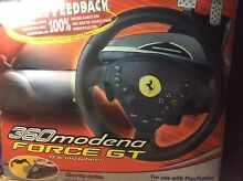 Thrustmaster 360 Mondena Force GT Racing Wheel - PlayStation, PS1, PS2 Kingsgrove Canterbury Area Preview