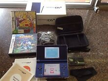 Nintendo DSi with cases and games Coorparoo Brisbane South East Preview