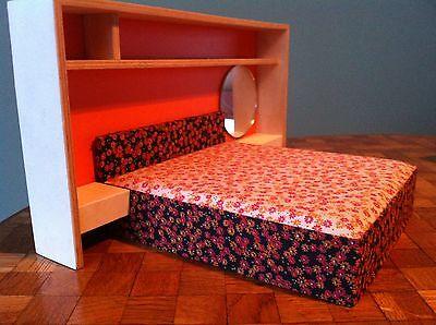 Puppenhaus Schlafzimmer Schrankbett Bett Bodo Hennig  Puppenhausmöbel Möbel