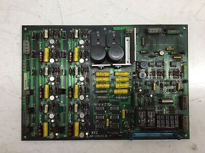 Sanyo / NEC PC Board, LEBLOND MAKINO, HV2 163-238120, 163-265206, Used