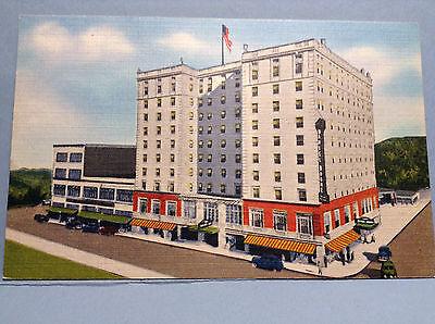 Daniel Boone Hotel Charleston West Virginia Vintage Postcard Color Unposted